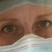 Federica Simone, infermiera di terapia intensiva
